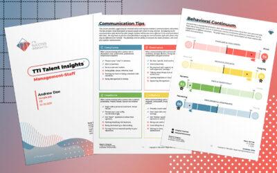 ¡Nueva Imagen en los Reportes TTI Success Insights!